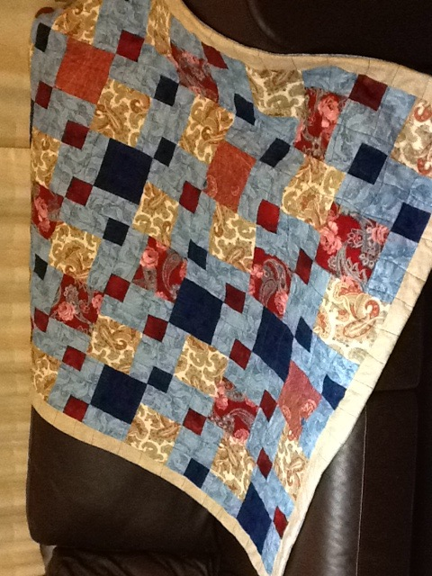 Baby quilt FINALLY FINISHED! (2/2)