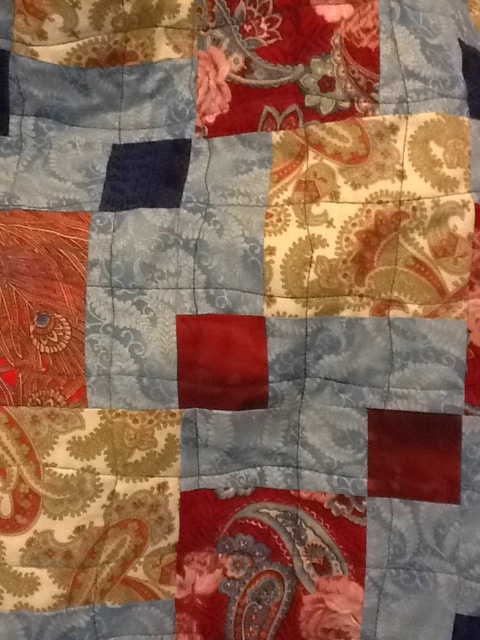 Baby quilt FINALLY FINISHED! (1/2)