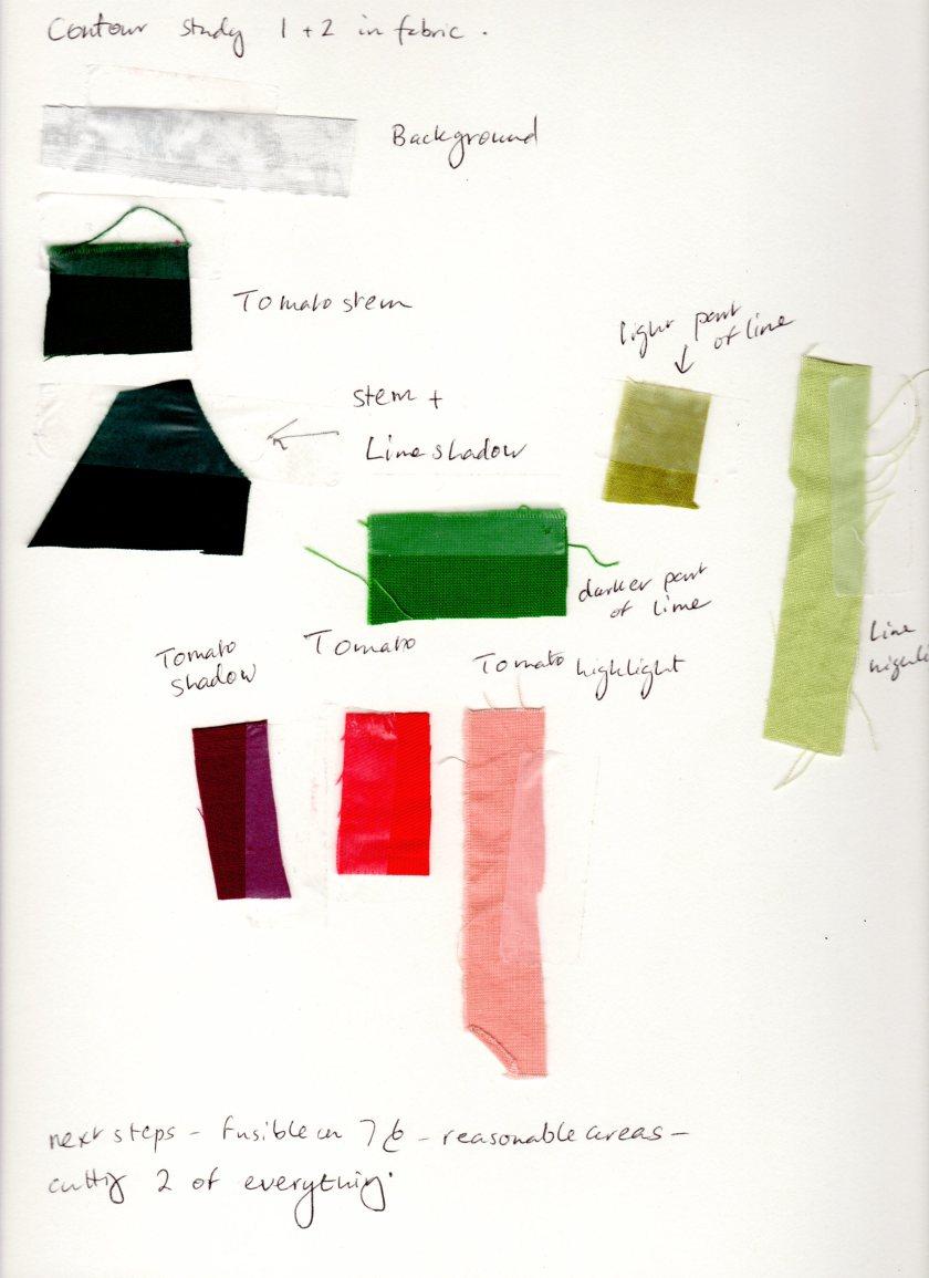 Palette for still life study